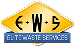elite waste services logo