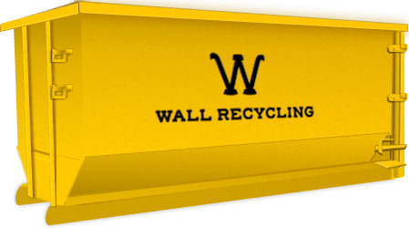 wall recycling 10 yard dumpster