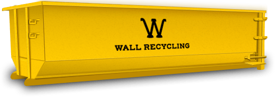 wall recycling 20 yard dumpster