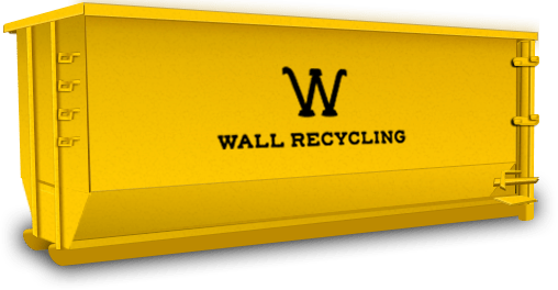 wall recycling 40 yard dumpster